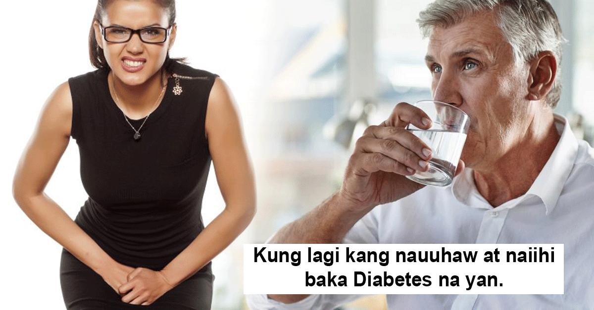 sintomas ng diabetes